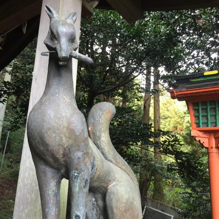 横須賀『伏見白赤稲荷社』田浦の奥地にある雰囲気抜群のお稲荷さん♪