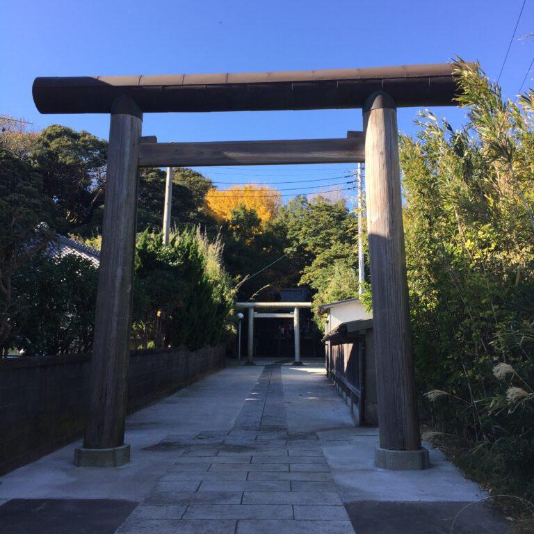 三浦半島『諸磯神明社(小桜姫神社)』に参拝してきました!道中の富士山にも感動♪