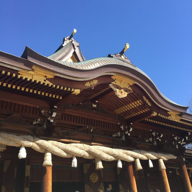 寒川神社で八方除けの御祈祷をして頂きました♪
