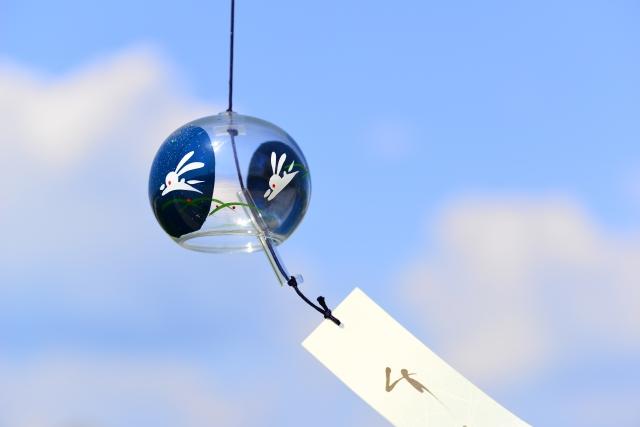 澄んだ音の風鈴で開運♪夏の風物詩は優秀な風水アイテムなのです!