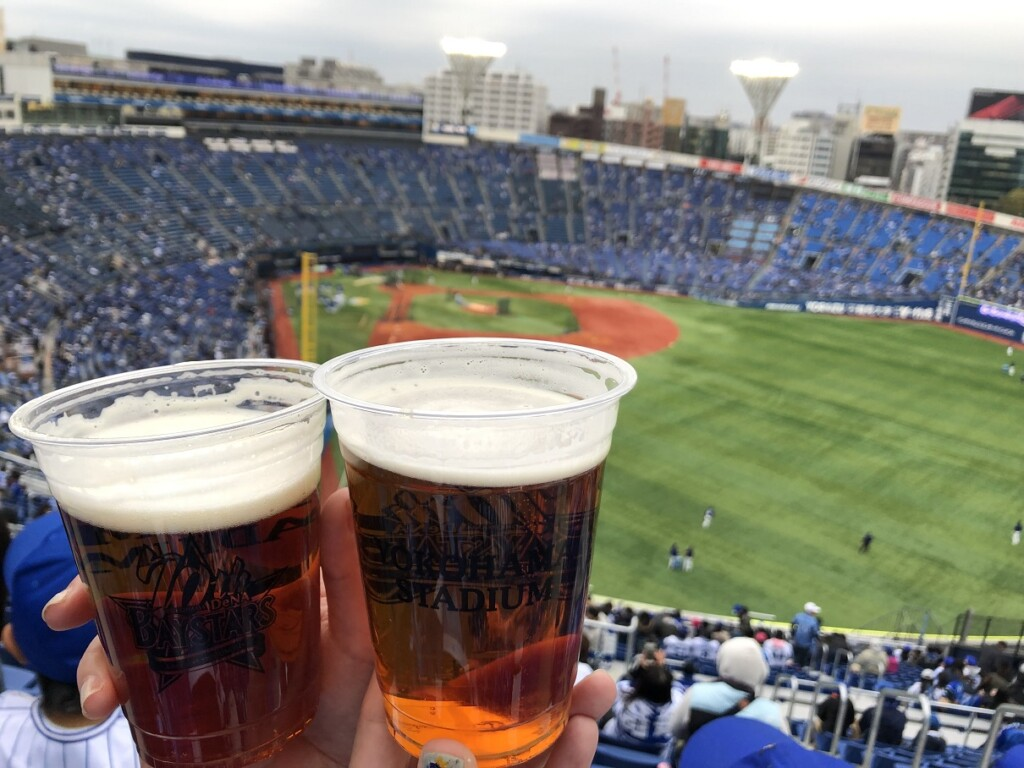 【野球観戦】オープン戦・開幕戦…3月4月の野球観戦は防寒必須!!