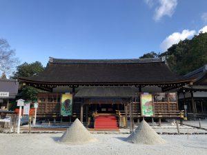 上賀茂神社の立砂